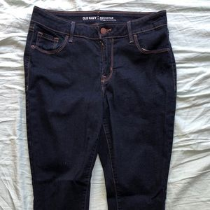 Medium rise Old Navy rockstar skinny jeans